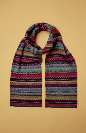 Rayas Alpaka Schal in Multicolor